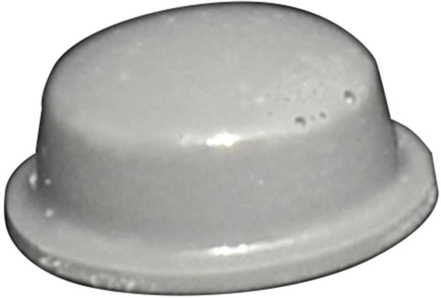 Podstavná nôžka prístrojová TOOLCRAFT PD2115G, (Ø x v) 11.1 mm x 5 mm, sivá, 1 ks