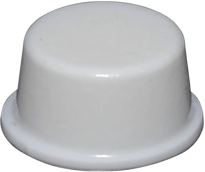 Podstavná nôžka prístrojová TOOLCRAFT PD2128W, (Ø x v) 12.7 mm x 6.2 mm, biela, 1 ks