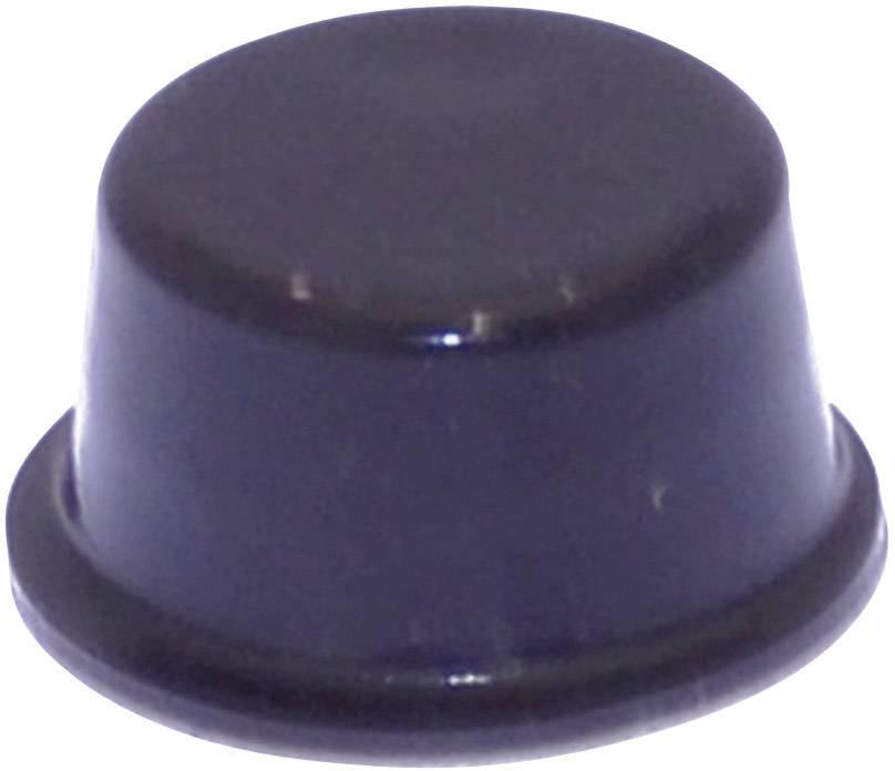 Podstavná nôžka prístrojová TOOLCRAFT PD2128SW, (Ø x v) 12.7 mm x 6.2 mm, čierna, 1 ks