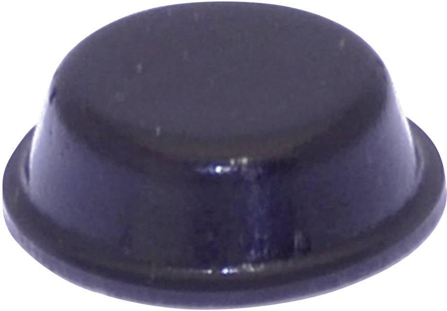 Podstavná nôžka prístrojová TOOLCRAFT PD2014SW, (Ø x v) 14 mm x 4.5 mm, čierna, 1 ks