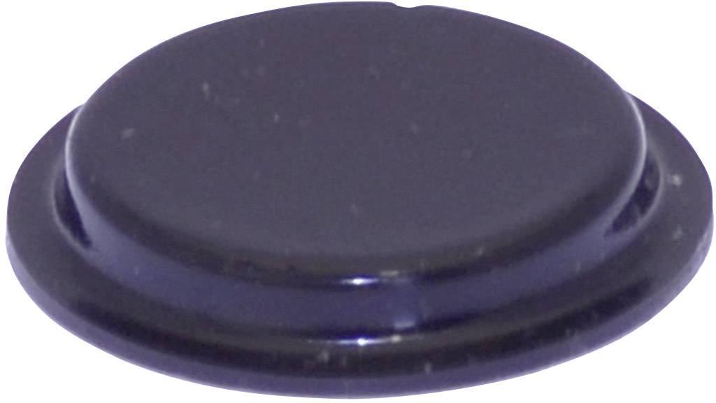 Podstavná nôžka prístrojová TOOLCRAFT PD2204SW, (Ø x v) 19.7 mm x 3 mm, čierna, 1 ks