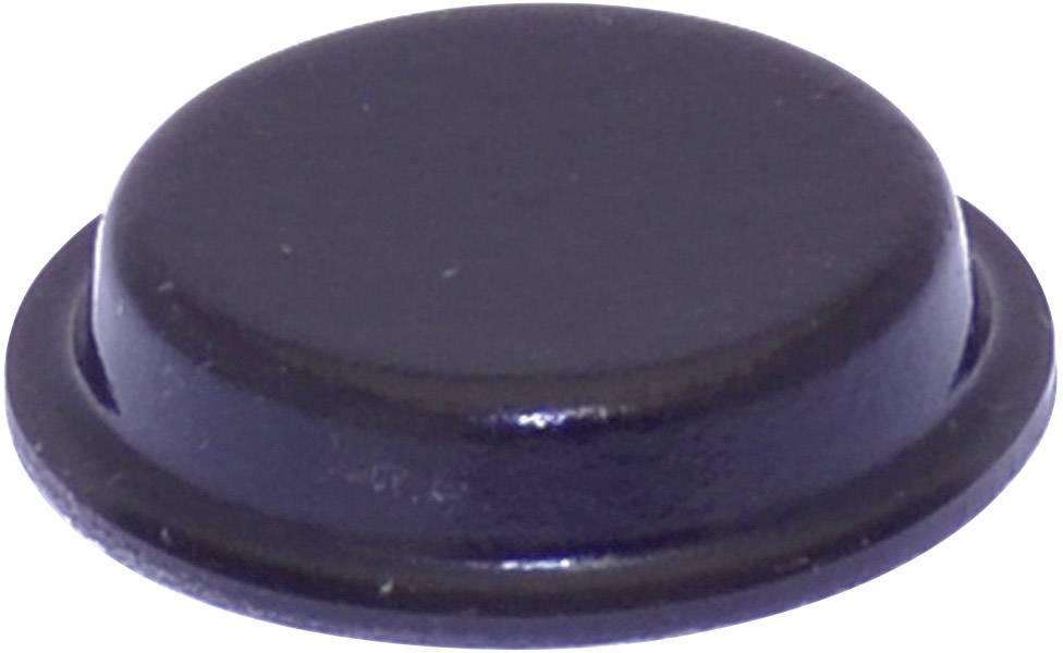 Podstavná nôžka prístrojová TOOLCRAFT PD2024SW, (Ø x v) 19 mm x 4 mm, čierna, 1 ks