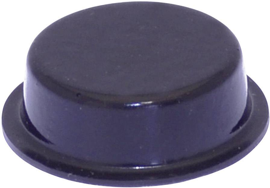 Podstavná nôžka prístrojová TOOLCRAFT PD2020SW, (Ø x v) 20 mm x 6.2 mm, čierna, 1 ks