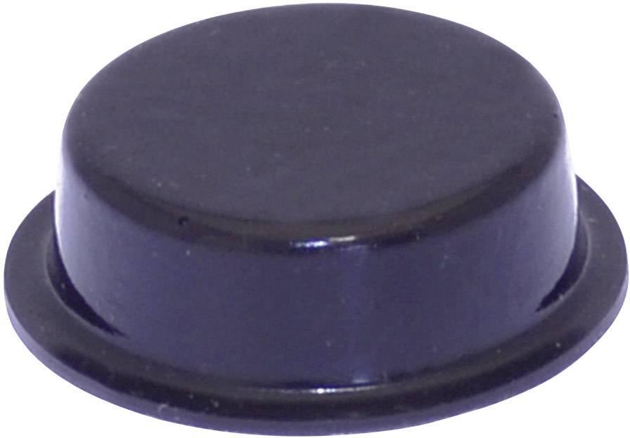 Podstavná nožka přístrojová TOOLCRAFT PD2020SW, (Ø x v) 20 mm x 6.2 mm, černá, 1 ks