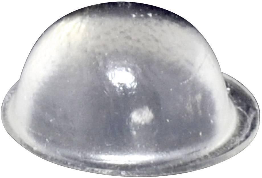 Podstavná nôžka prístrojová TOOLCRAFT PD2190C, (Ø x v) 19 mm x 9.5 mm, priehľadná, 1 ks