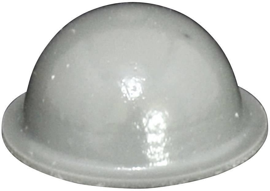 Podstavná nôžka prístrojová TOOLCRAFT PD2190G, (Ø x v) 19 mm x 9.5 mm, sivá, 1 ks