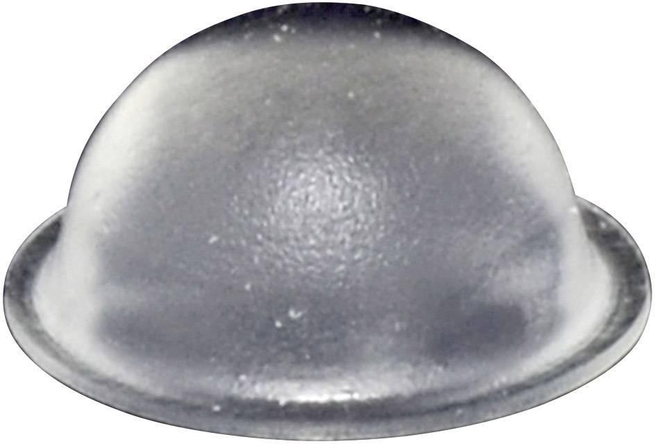 Podstavná nôžka prístrojová TOOLCRAFT PD2150C, (Ø x v) 16 mm x 7.9 mm, priehľadná, 1 ks