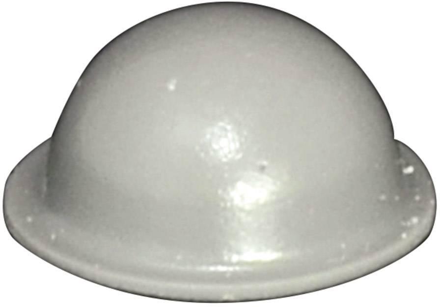 Podstavná nôžka prístrojová TOOLCRAFT PD2150G, (Ø x v) 16 mm x 7.9 mm, sivá, 1 ks
