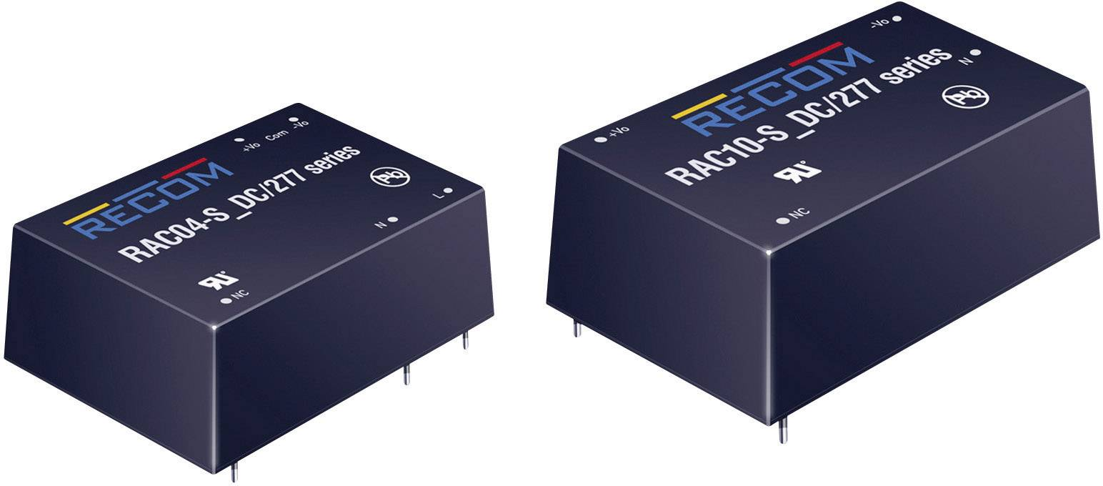 Sieťový zdroj do DPS Recom International RAC04-12SA, 4 W, 12 V