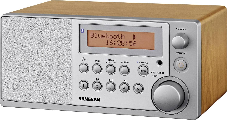 DAB+ rádio Sangean DDR-31 BT, FM, drevo