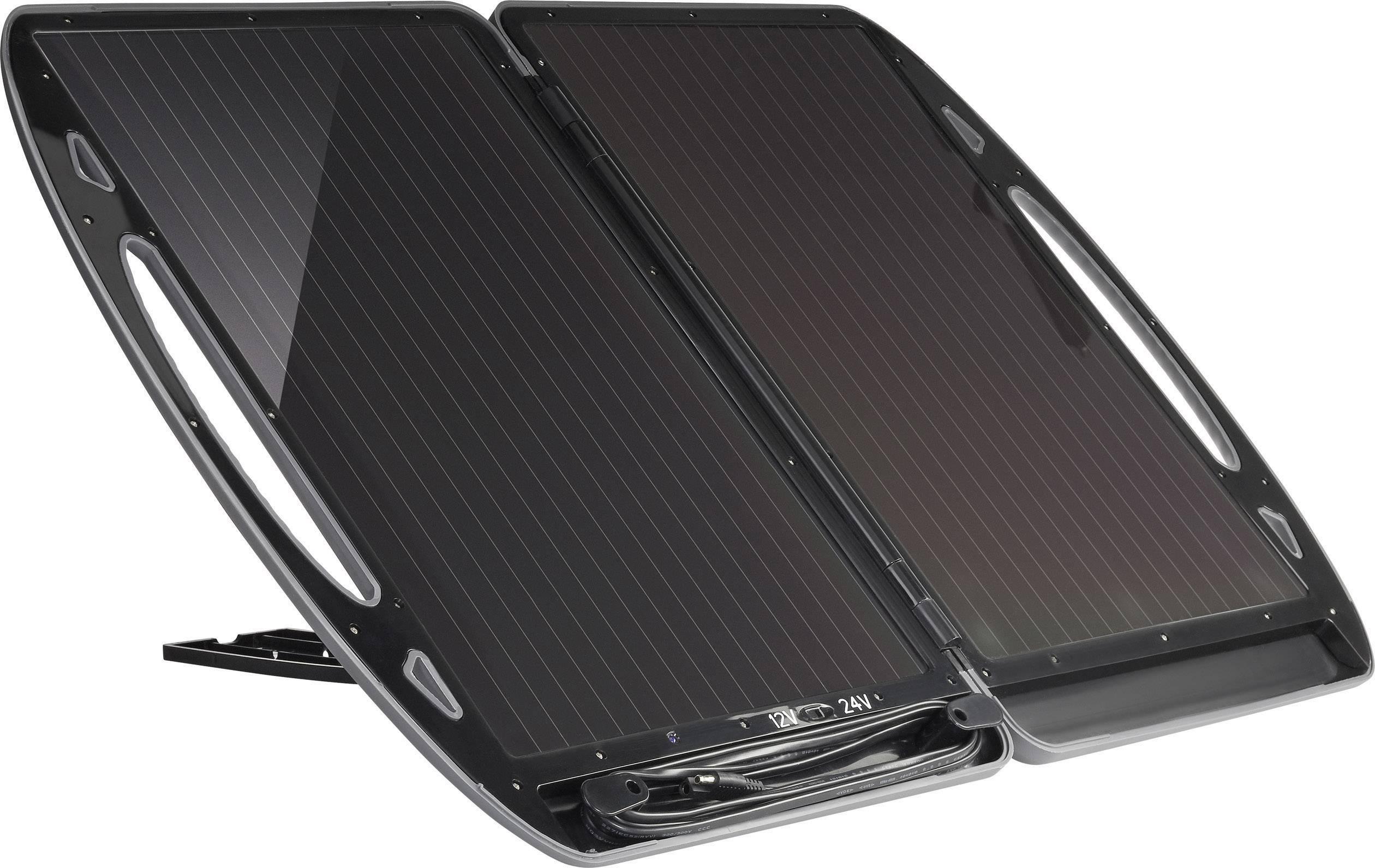 Solární nabíječka v kufříku, TPS- 936N-A, 12/24 V, 13 W