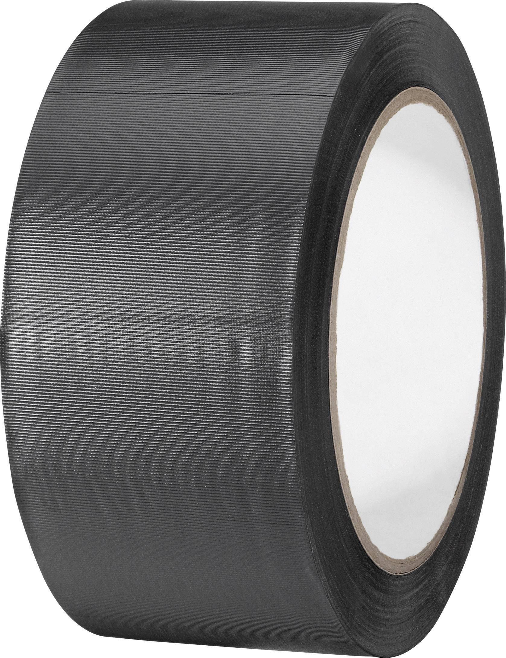 PVC tape TOOLCRAFT 832450S-C 832450S-C, (d x š) 33 m x 50 mm, čierna, 1 roliek