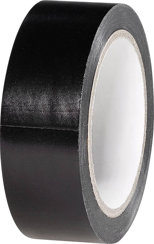 Izolačná páska TOOLCRAFT K1B19L6S-C K1B19L6S-C, (d x š) 6 m x 19 mm, čierna, 1 roliek