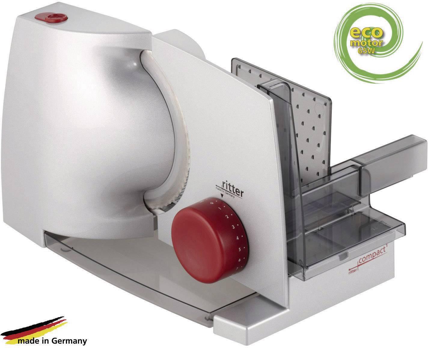 Kráječ potravin Ritterwerk Compact 1, 518.000, 65 W, stříbrná/šedá