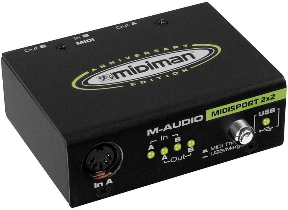 MIDI rozhraní s USB M-Audio Midisport 2x2