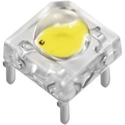LED dioda hranatá s vývody Nichia, NSPWR70CSS-K1 B4/6 C3-6 P07-09, 50 mA, 7,6 mm, 3,1 V, 80 °, bílá