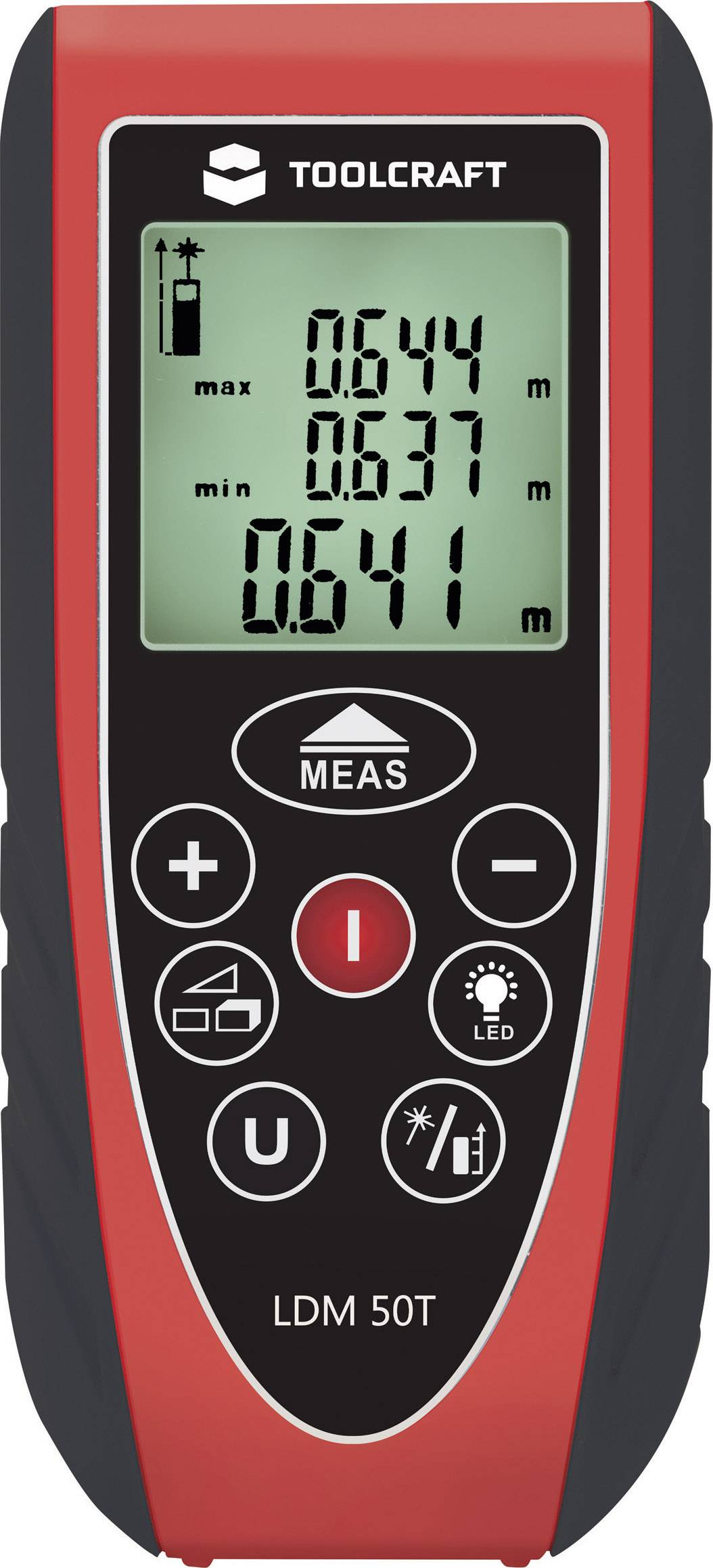 Laserový diaľkomer LDM 50 – TOOLCRAFT