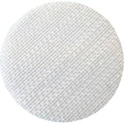 Samolepicí podložka se suchým zipem Fastech T01035000003C1, bílá, Ø 35 mm, bílá