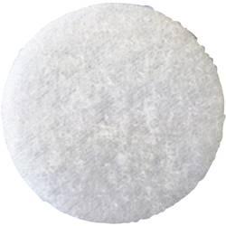Samolepicí podložka se suchým zipem Fastech T02035000003C1, Ø 35 mm, bílá