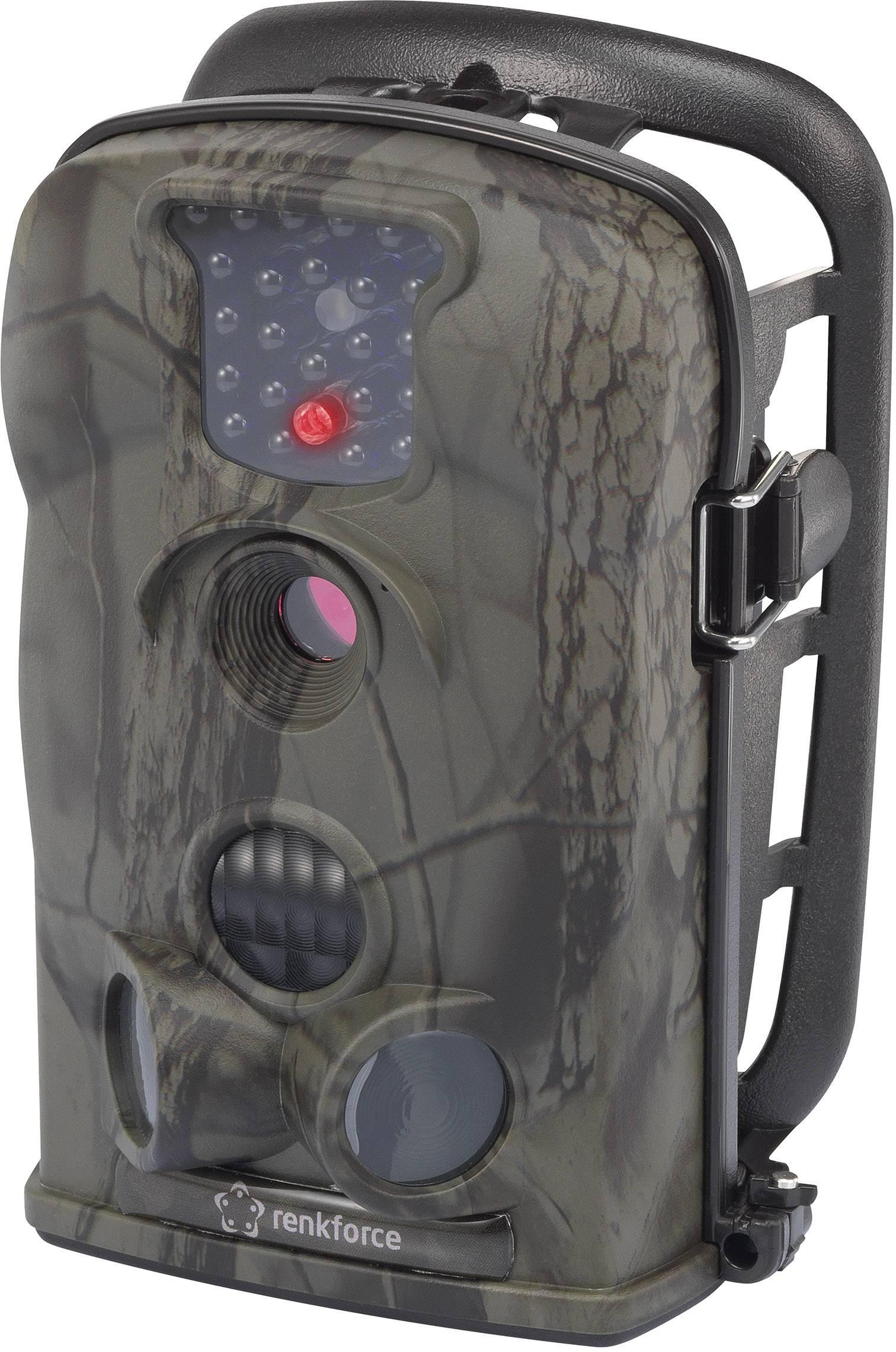 Fotopast Renkforce IR12MP, 12 MPix, černé LED diody, maskáčová