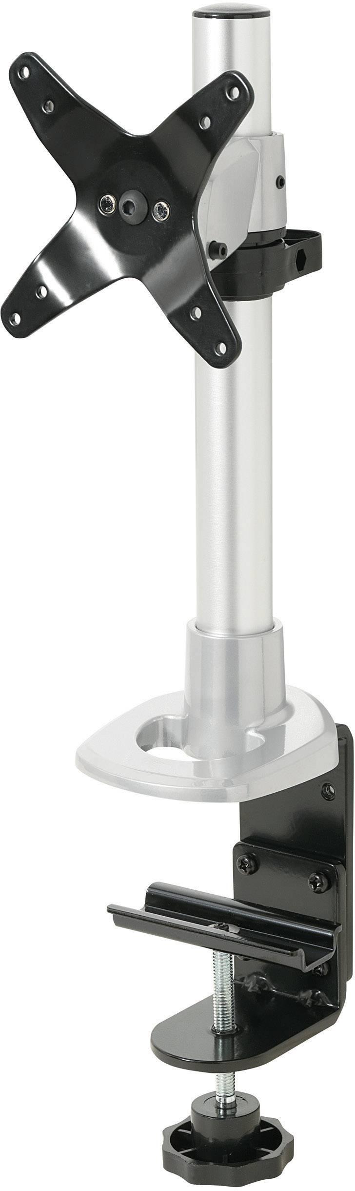 """Stolový držiak monitoru SpeaKa Professional SP-1624740, 25,4 cm (10"""") - 76,2 cm (30""""), striebornočierná"""