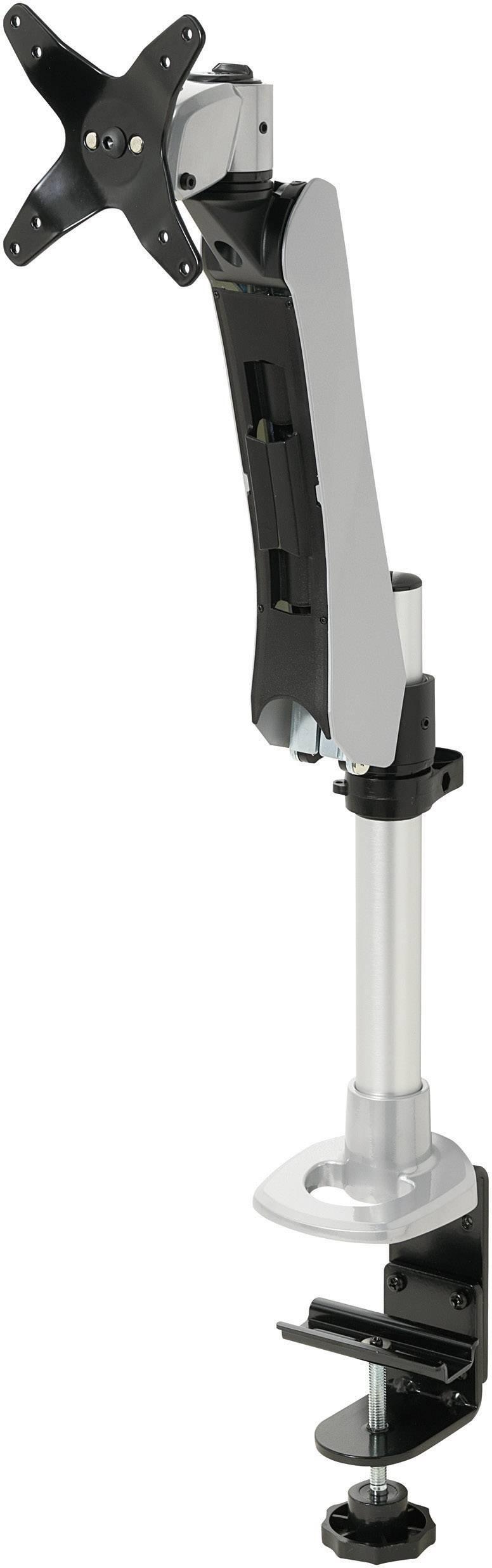 """Stolový držiak monitoru SpeaKa Professional SP-1624772, 25,4 cm (10"""") - 76,2 cm (30""""), striebornočierná"""