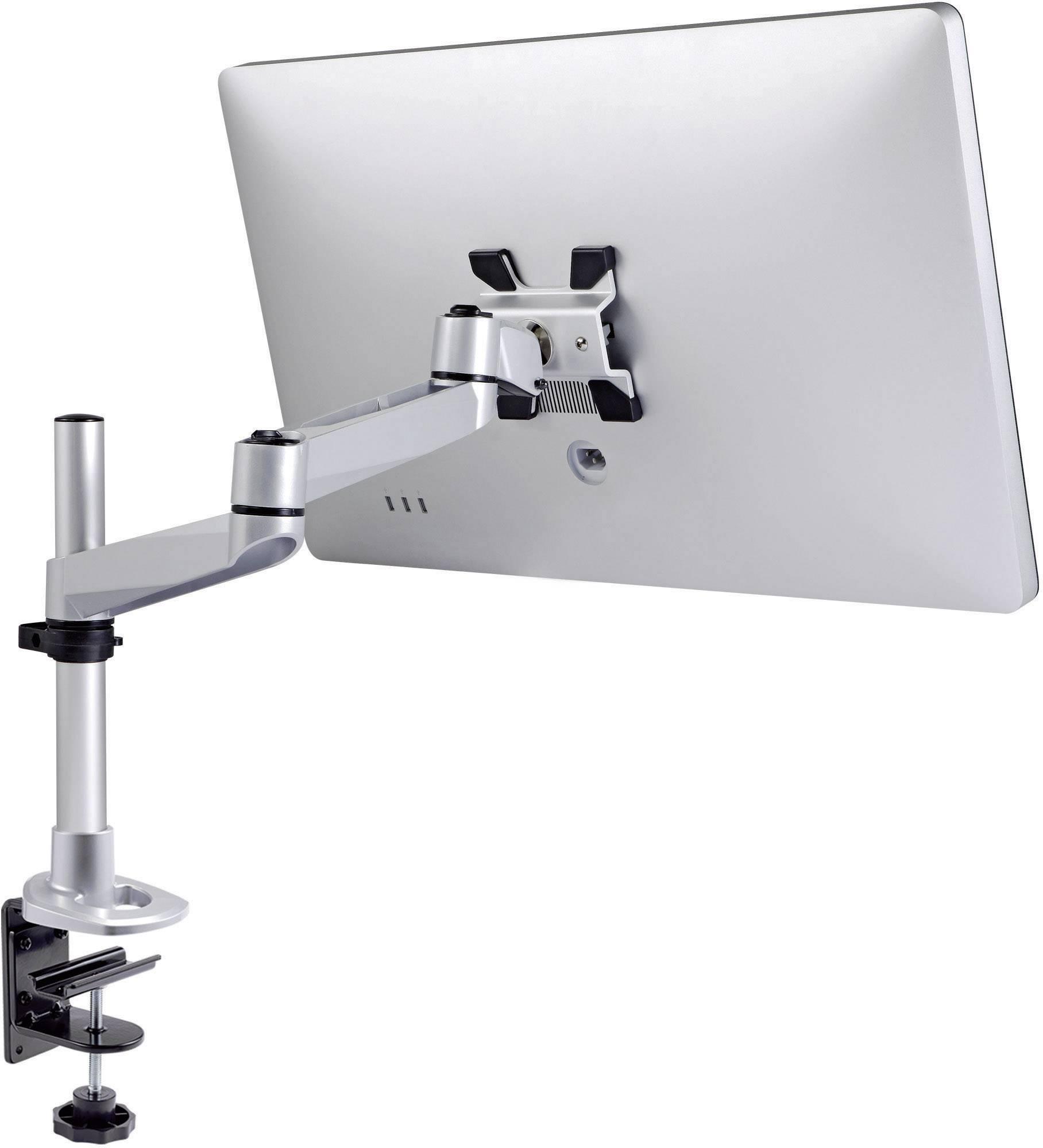 """Stolový držiak monitoru SpeaKa Professional SP-1624924, 25,4 cm (10"""") - 76,2 cm (30""""), striebornočierná"""
