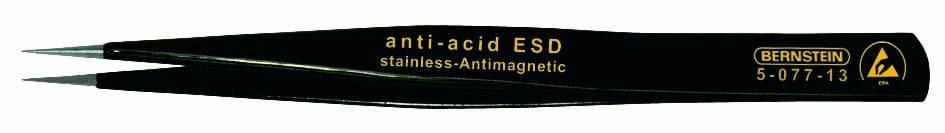 SMD pinzeta AA SA-ESD Bernstein 5-077-13, 130 mm