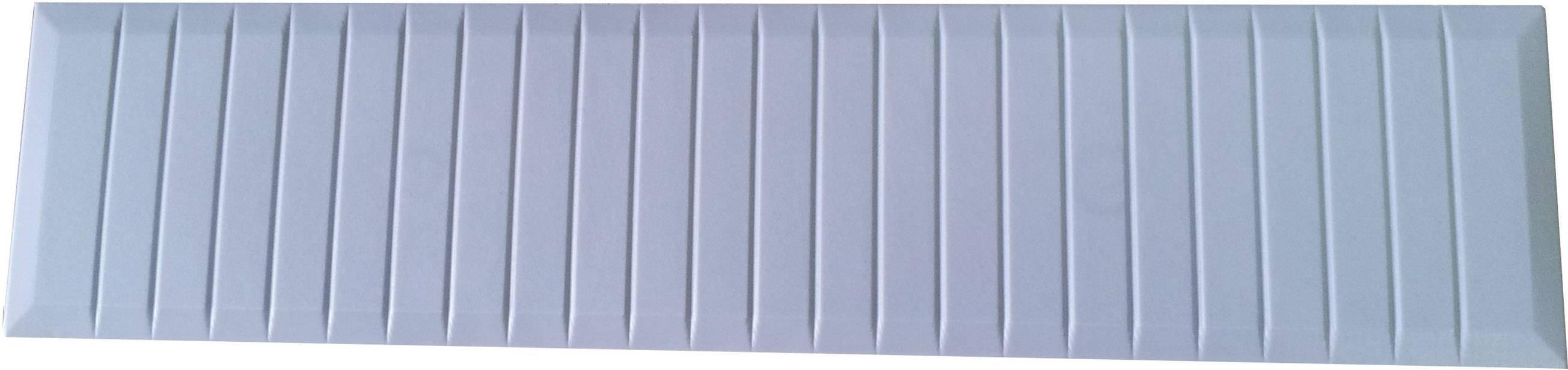 Veko Lohmeier ZB-4013, polyamid, svetlo sivá (RAL 7035), 1 ks