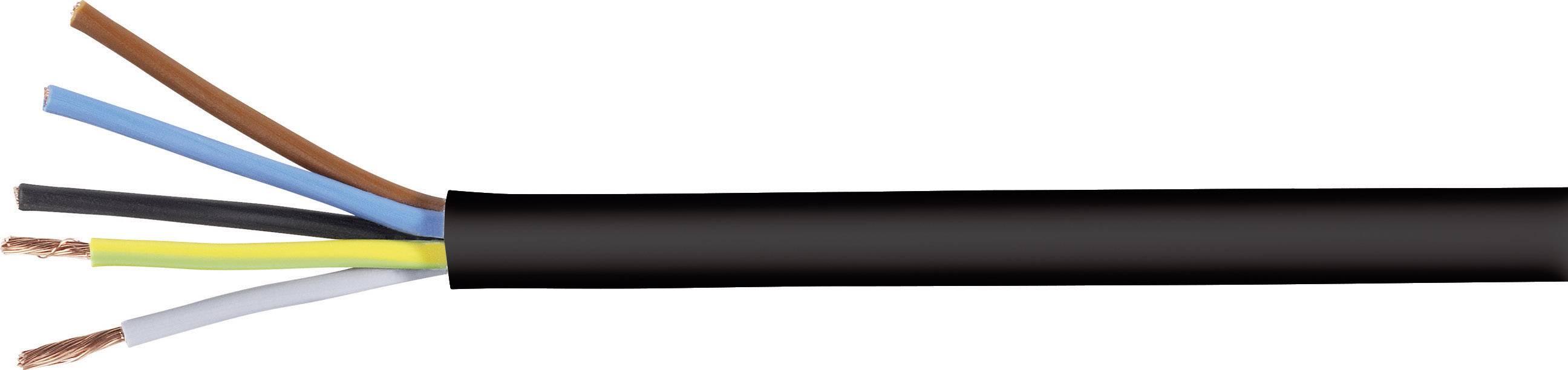 Vícežílový kabel LappKabel H05VV-F, 3028243, 5 G 2.50 mm², černá, metrové zboží