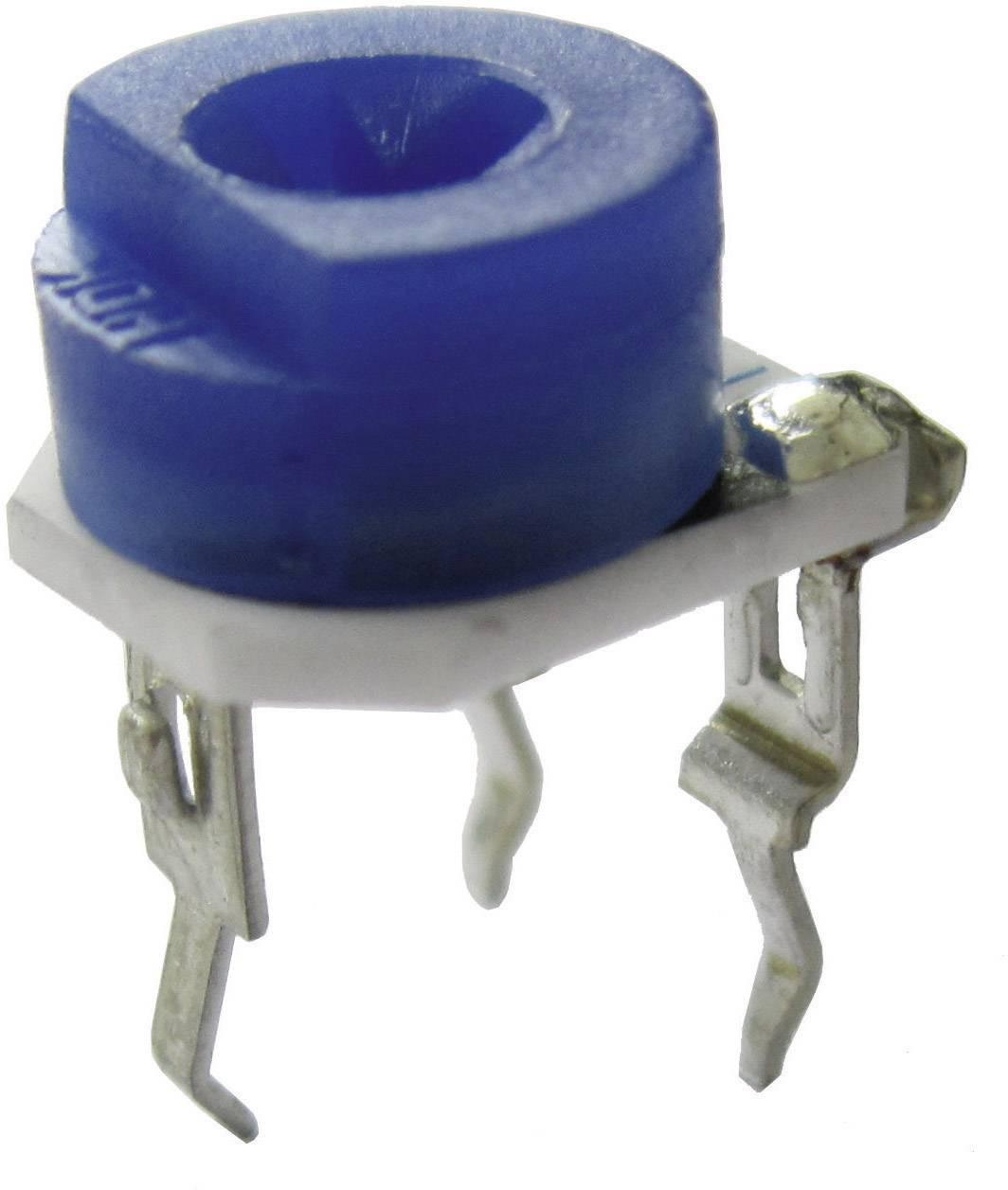 Oporový trimr miniaturní VG067, vertikální VG067TL1B100K, 100 kΩ, 0,2 W, ± 25 %