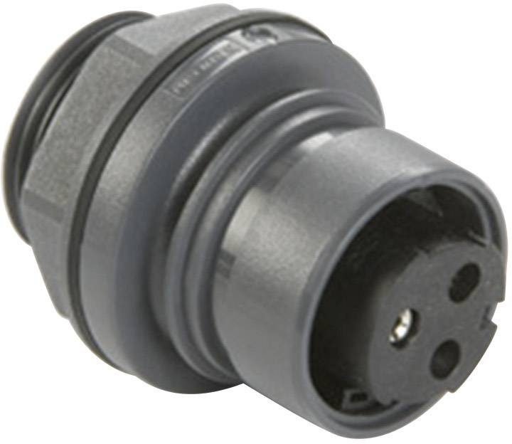 Guľatý faston Bulgin PXP6012/22P/CR IP66, IP68, IP69K, PC/PBT, pólů 22, 1 ks