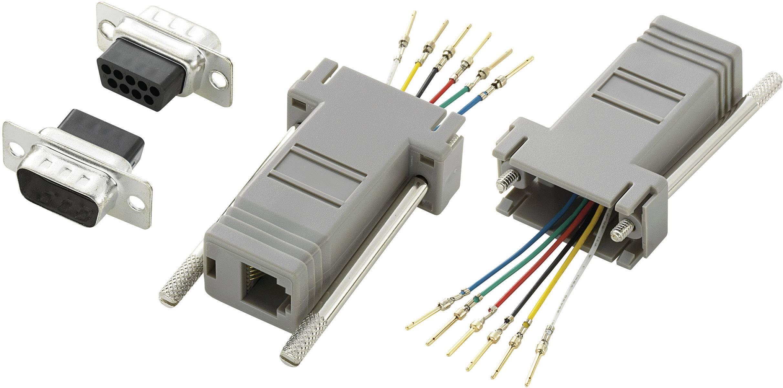 D-SUB adaptér Conrad Components počet pinov 9, 1 ks