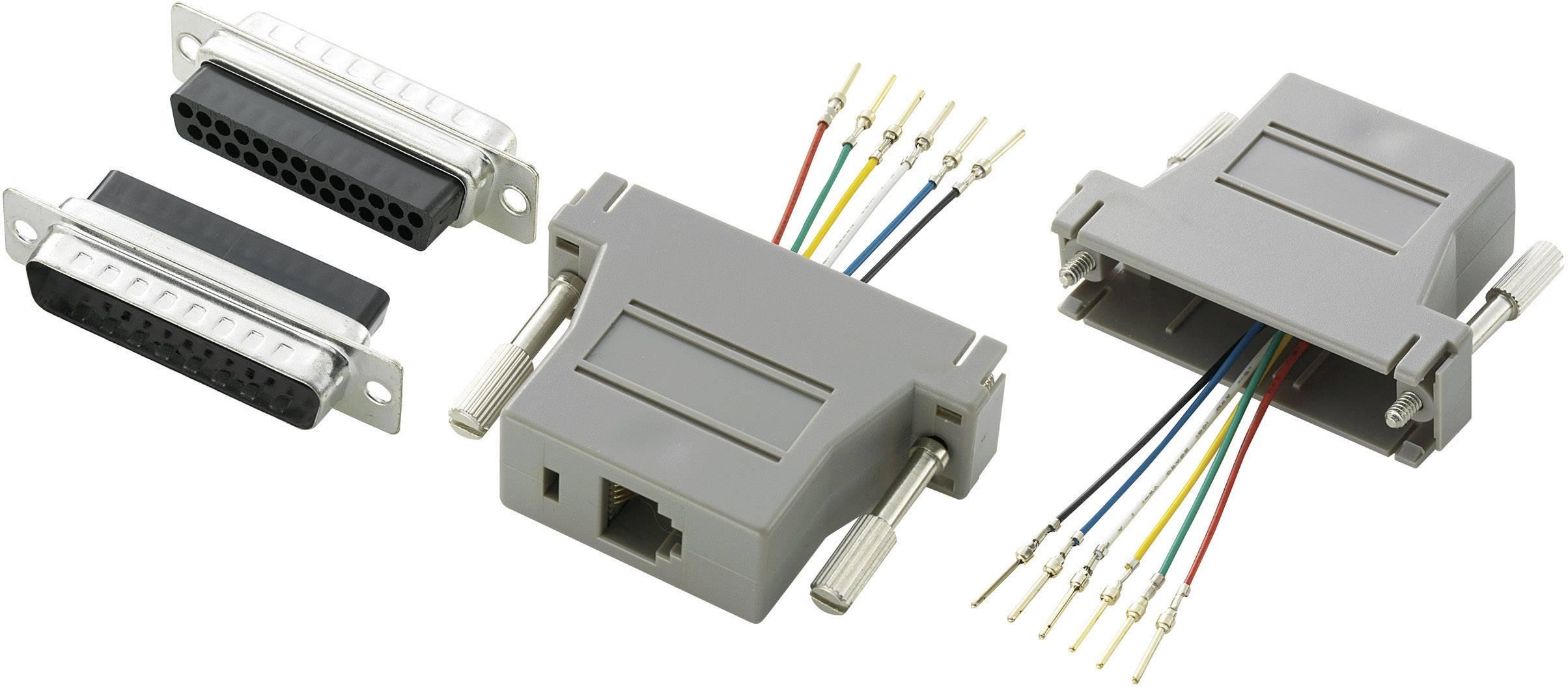 D-SUB adaptér Conrad Components počet pinov 25, 1 ks