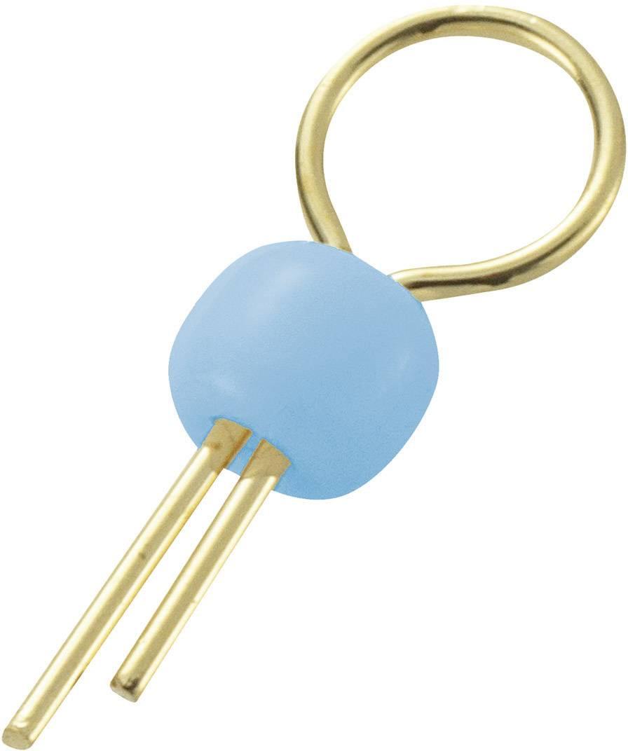 Úchytka do DPS TEST-1-BL, modrá