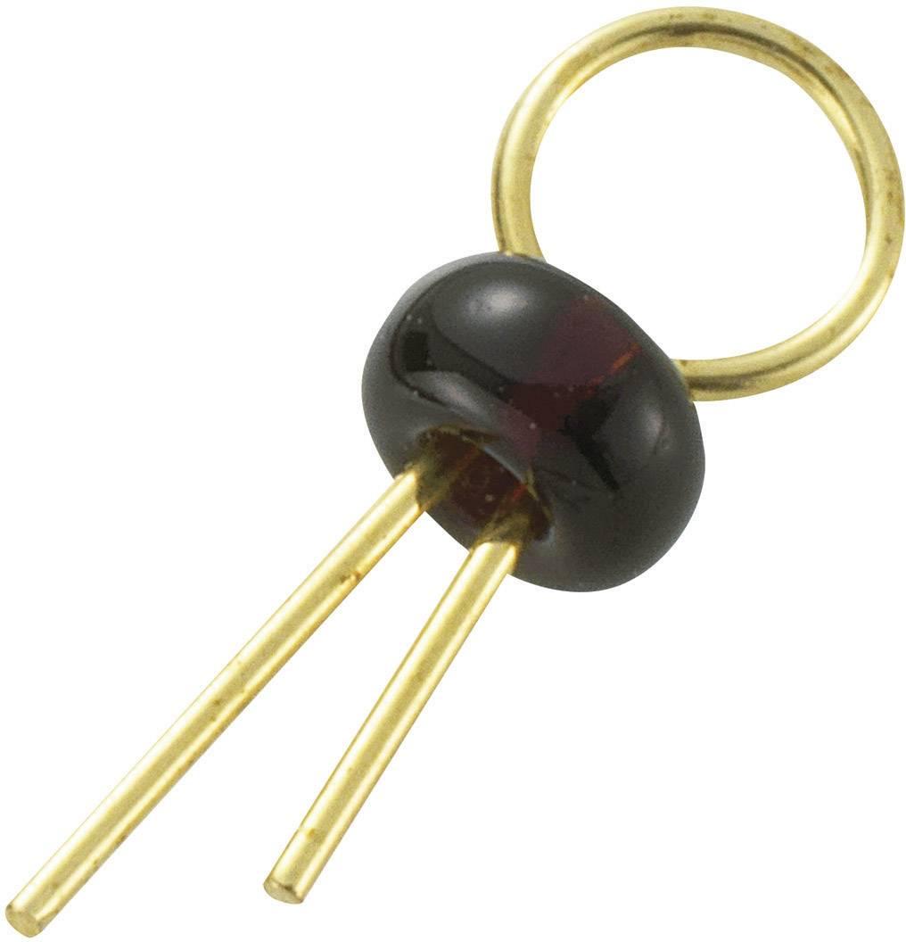 Úchytka do DPS TEST-1-BK, černá