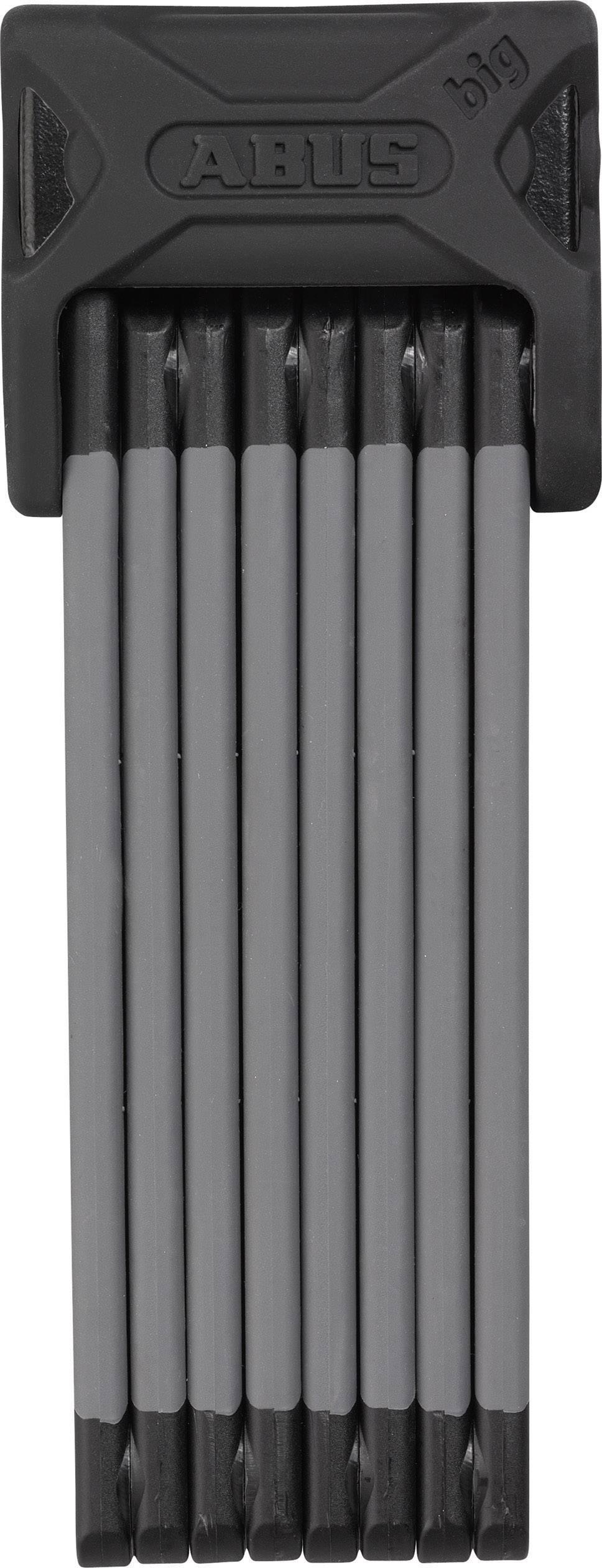 Skladací zámok ABUS 6000/120 black Bordo Big, (Ø x d) 5 mm x 1200 mm, čierna