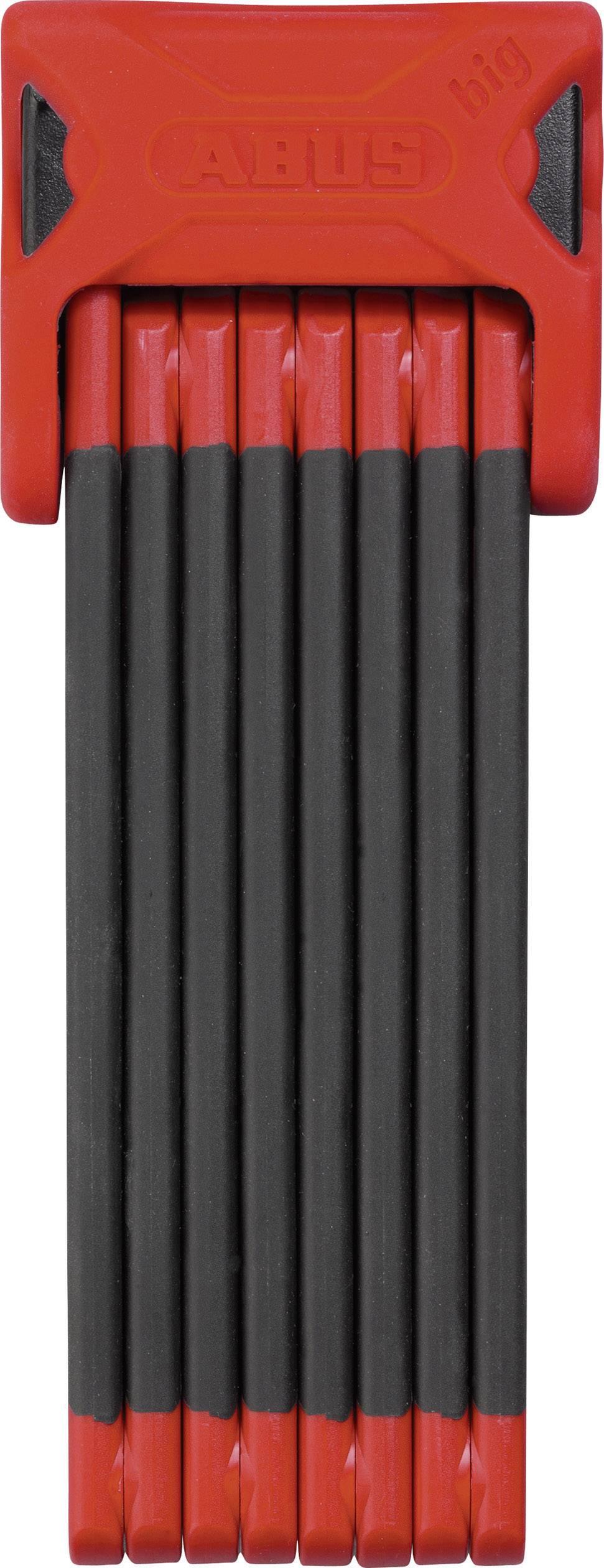Skladací zámok ABUS 6000/120 red Bordo Big, (Ø x d) 5 mm x 1200 mm, červená