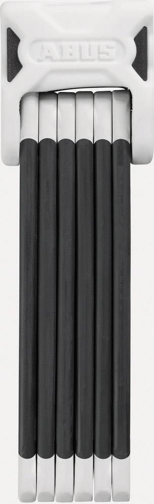 Skladací zámok ABUS 6000/90 white Bordo Big, (Ø x d) 5 mm x 900 mm, biela