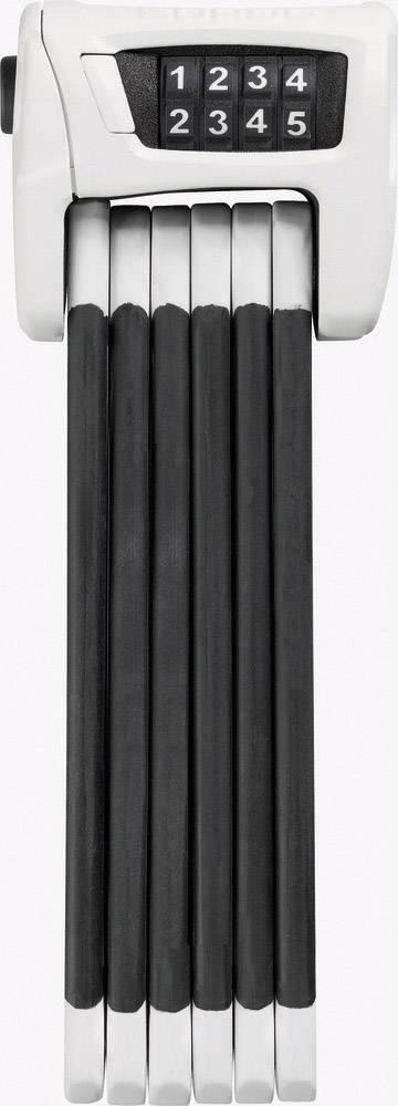 Skladací zámok ABUS 6100/90 Bordo Combo, (Ø x d) 5 mm x 900 mm, biela