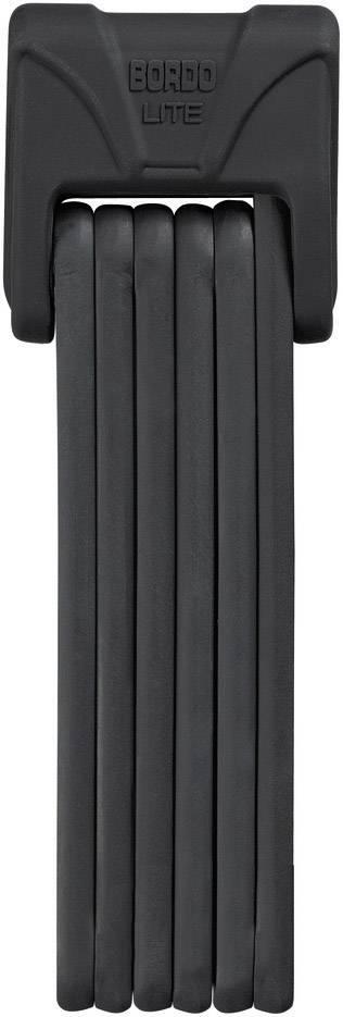 Skladací zámok ABUS 6050/85 Bordo Lite, (Ø x d) 5 mm x 850 mm, čierna