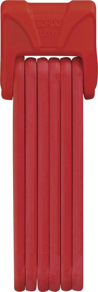 Skladací zámok ABUS 6050/85 Bordo Lite, (Ø x d) 5 mm x 850 mm, červená