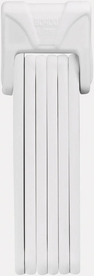 Skladací zámok ABUS 6050/85 Bordo Lite, (Ø x d) 5 mm x 850 mm, biela