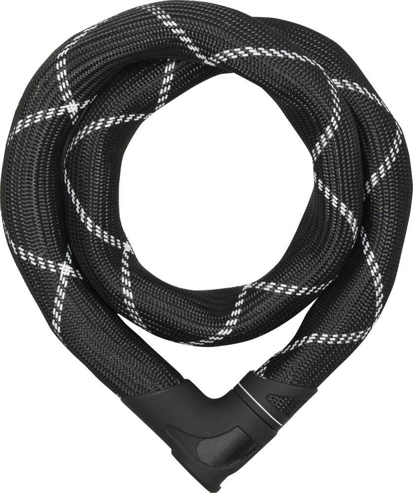 Zámok na reťaz ABUS 8210/85 Iven Chai, (Ø x d) 8 mm x 850 mm, čierna