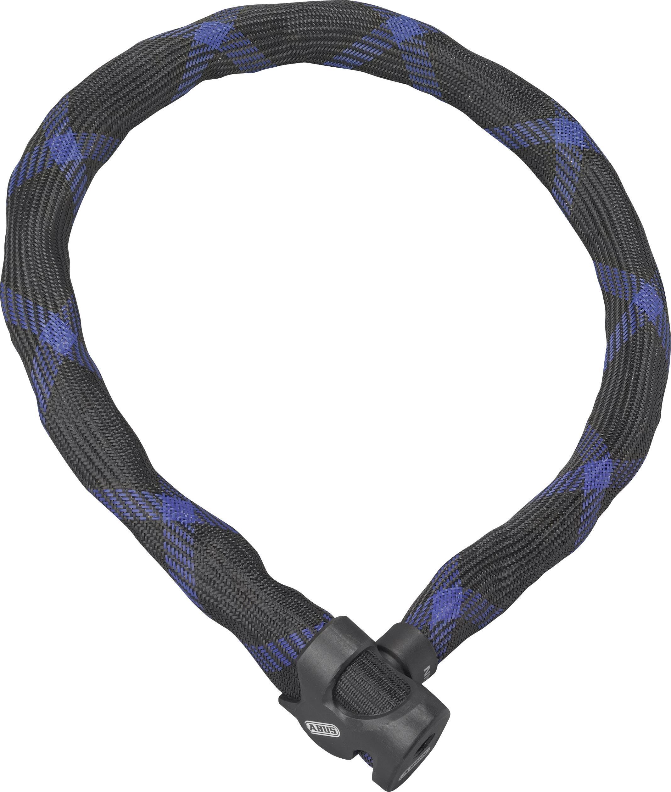 Zámok na reťaz ABUS 7210/110 Ivera Chain, (Ø x d) 7 mm x 1100 mm, čierna/modrá