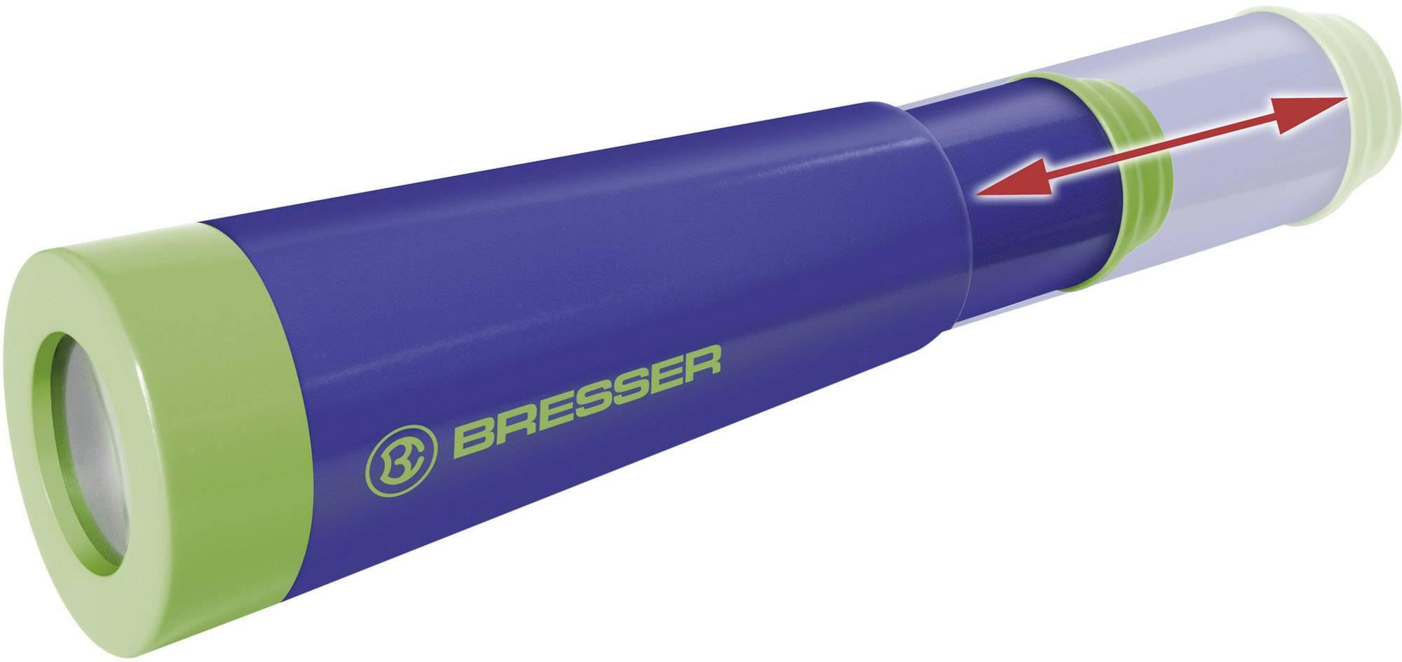 Detský ďalekohľad Bresser Optik Junior, 32 mm, modrozelená