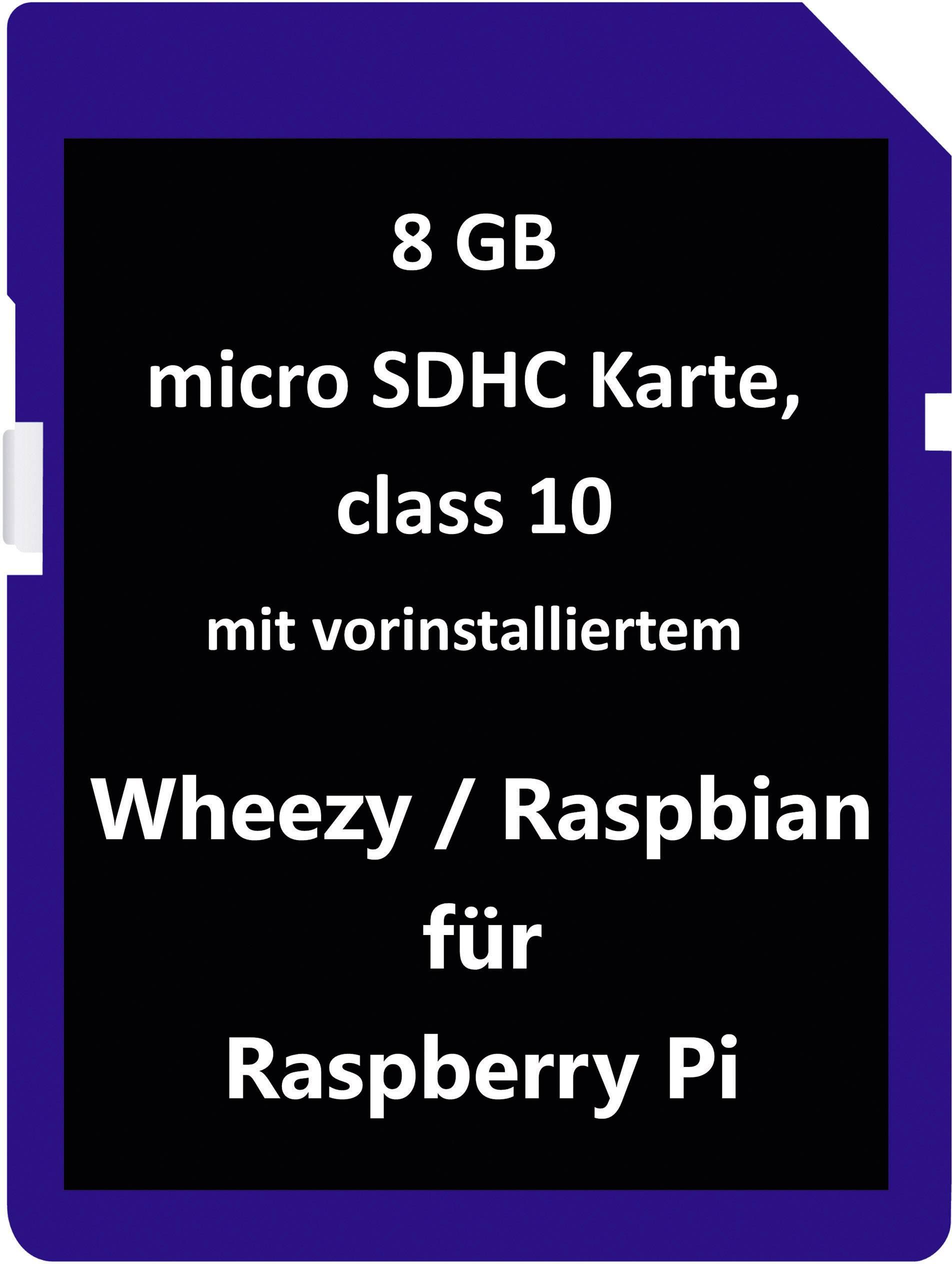 """Operační systém pro Raspberry Pi® """"Wheezy"""" (pro modely Raspberry Pi® A, B, B+)"""