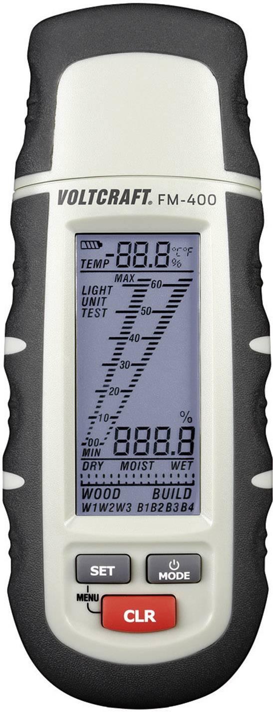 Měřič vlhkosti dřeva a stavebních materiálů Voltcraft FM-400
