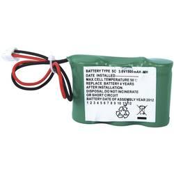 Akumulátor do nouzových světel Beltrona N/A ELRH3AA1500, se zástrčkou, 1500 mAh, 3.6 V