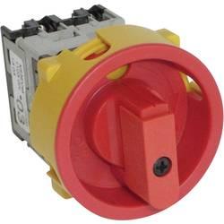 Odpínač odblokovatelný BACO NS3EV48, 20 A, 400 V, 1 x 90 °, červená, žlutá, 1 ks